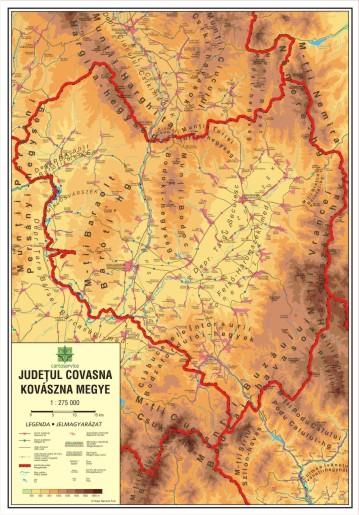 Mapmag Ro Harta Județului Covasna Magazinul Online Al