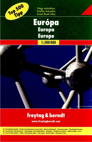 Europe - road atlas (freytag&berndt - 1:500.000)