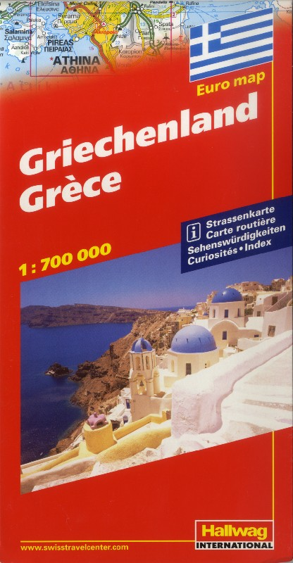 Greece (Hallwag - 1:700.000)