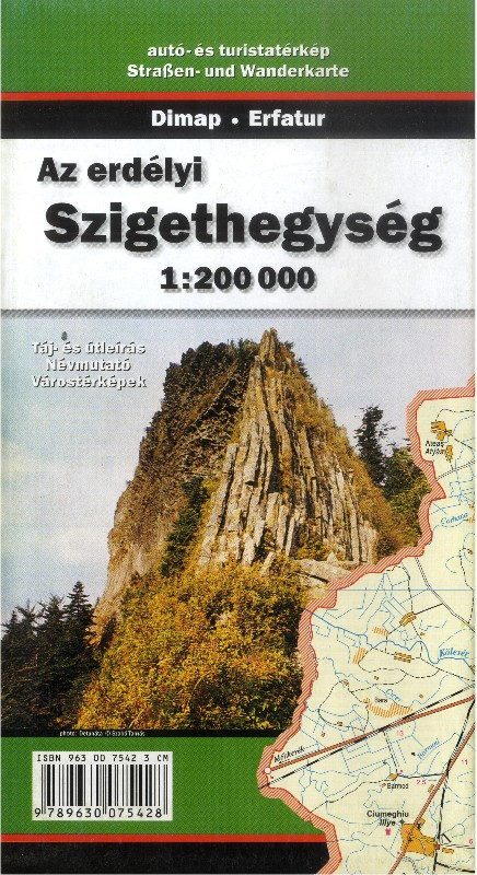 The Apuseni Mountains (Dimap - Erfatur 1 : 200.000)