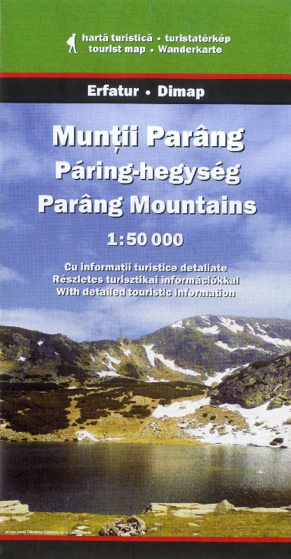 Parang Mountains (Dimap - 1:50.000)